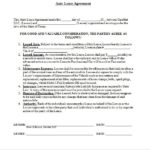 10+ Free Lease Agreement Templates