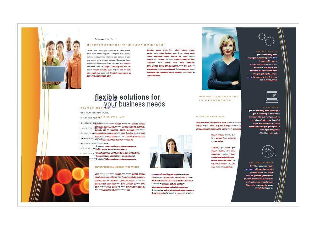 40 Free Tri Fold Brochure Templates