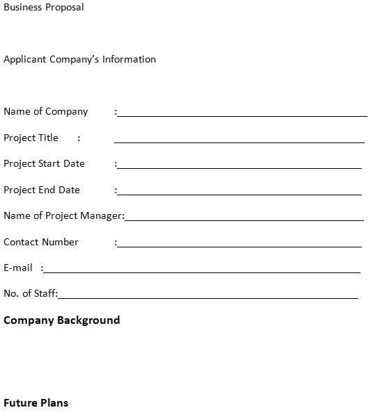 10 business proposal templates