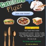 Catering Flyer Templates