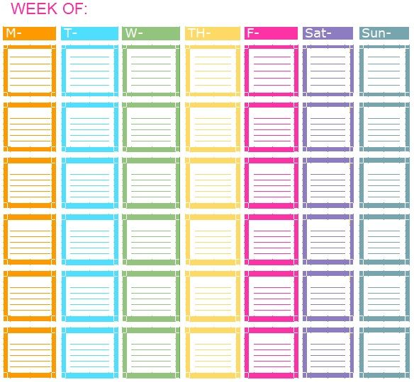 Daily Task List Template 05