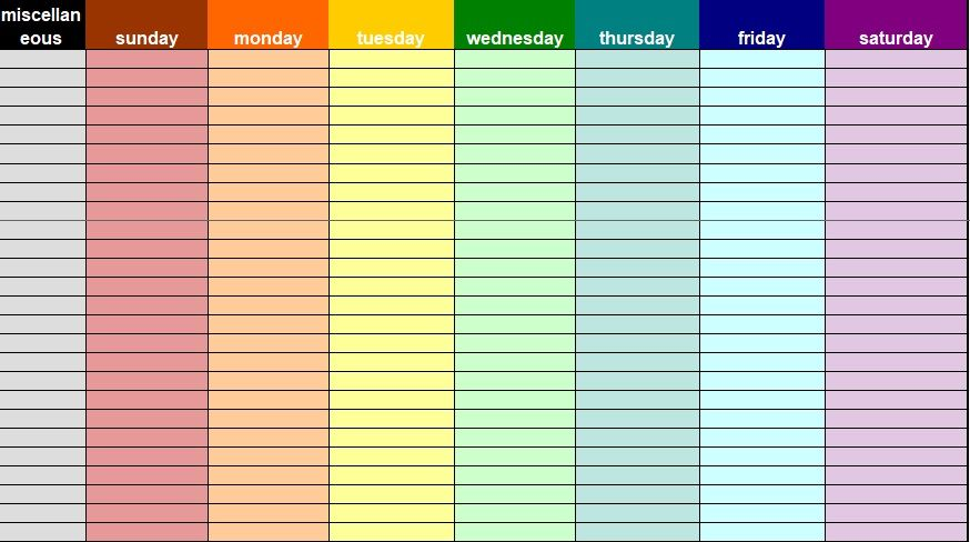 Daily Task List Template 06
