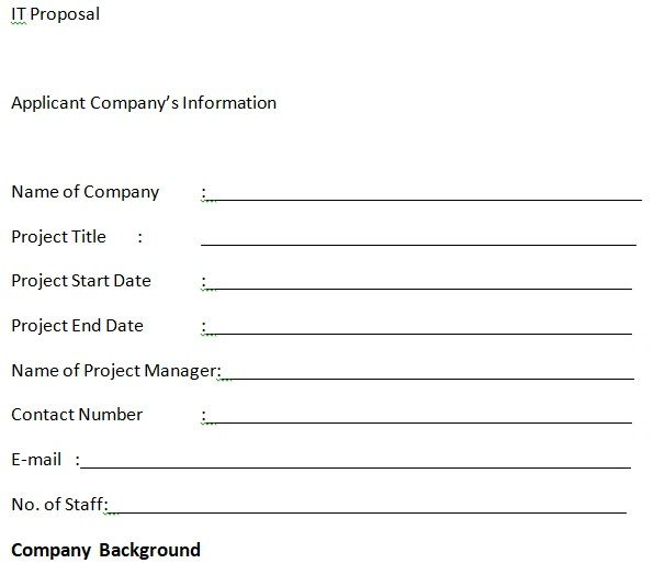 IT Proposal Template 04