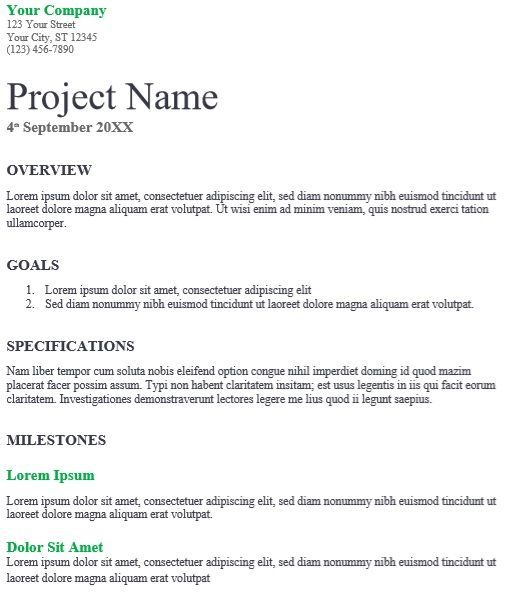 IT Proposal Template 05