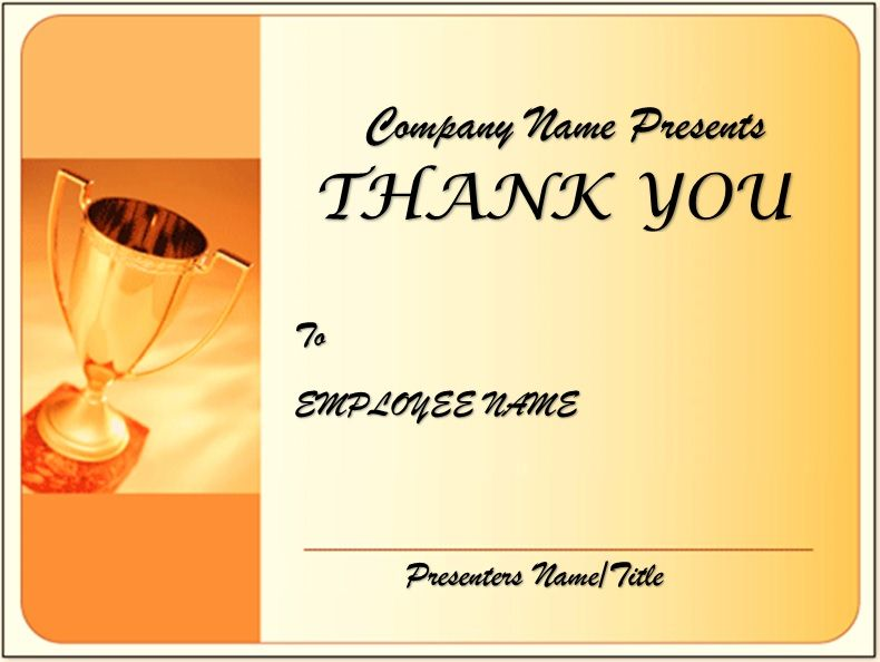 Free Thank You Certificate Template 03
