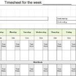 Time Log Sheet Templates