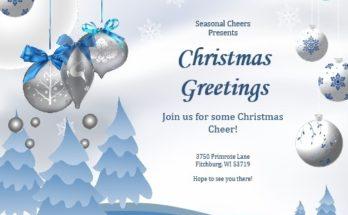 christmas Invitation Flyer 08