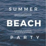 5 Free Beach Party Invitation Flyer Templates