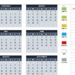Monthly Calendar Schedule Templates