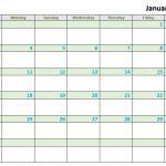 14 Free 2021 Calendar Templates