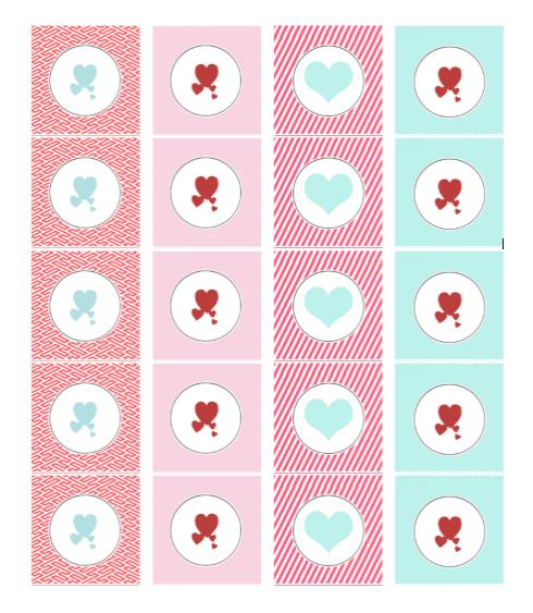 Heart Shape Template 01