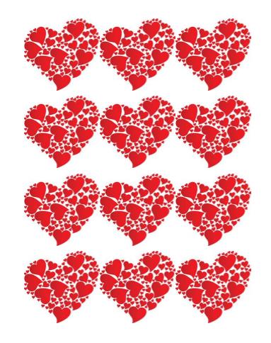 Heart Shape Templates