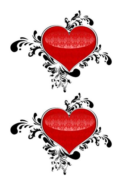Heart Shape Template 14