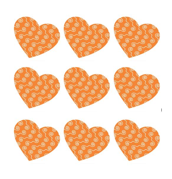 Heart Shape Template 24