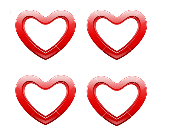 Heart Shape Template 25