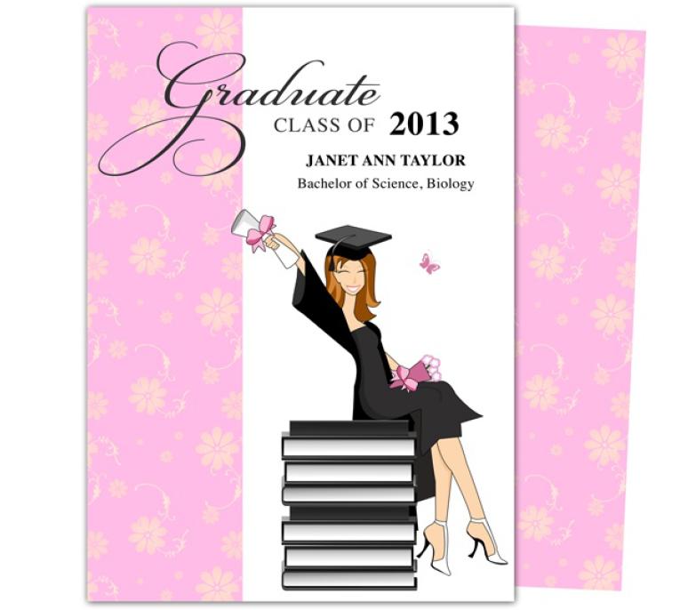 Graduation Party Invitation Template 07