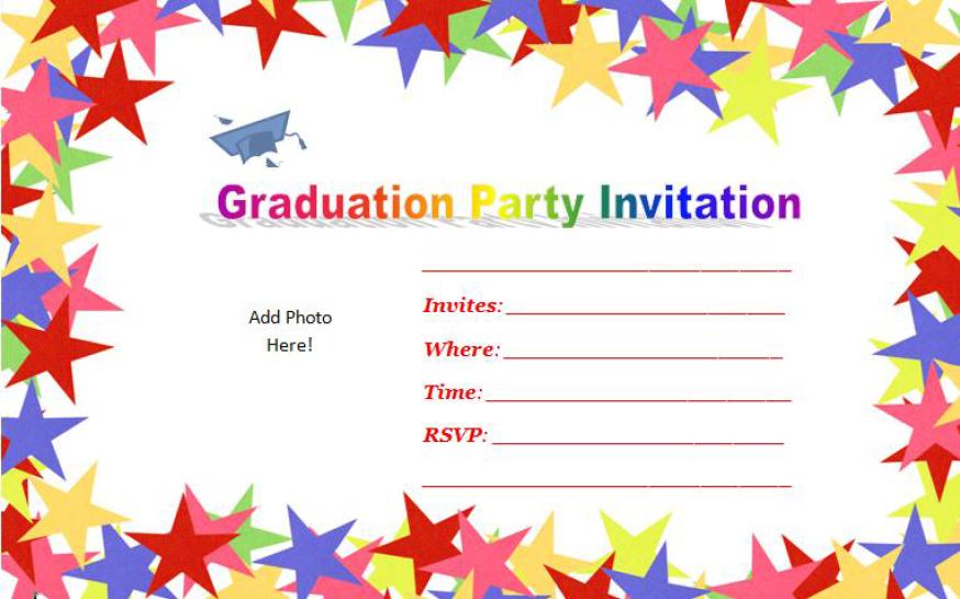 Graduation Party Invitation Template 14