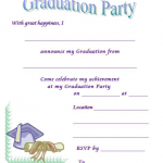 26 Free Graduation Party Invitation Templates