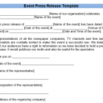 21 Free Press Release Templates & Samples