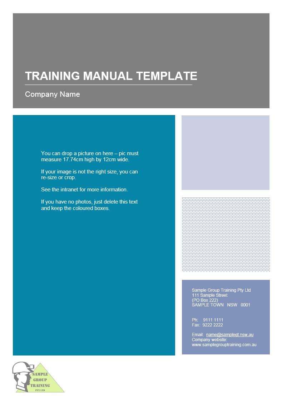 Training Manual Templates