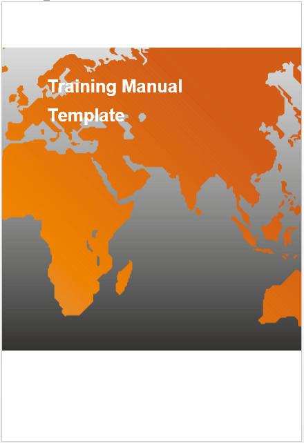 Training Manual Template 09