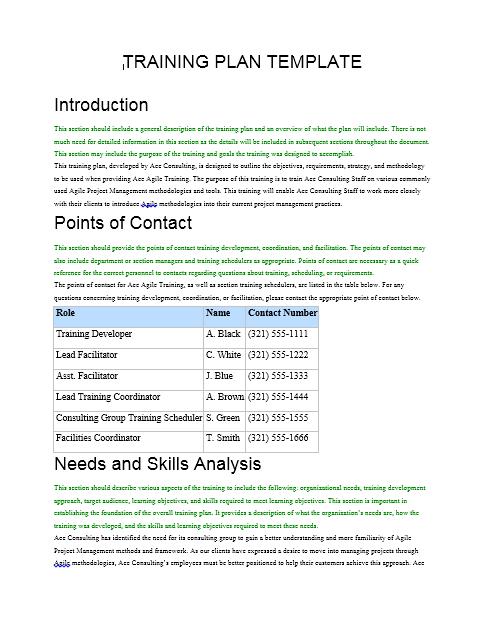 Training Manual Template 16