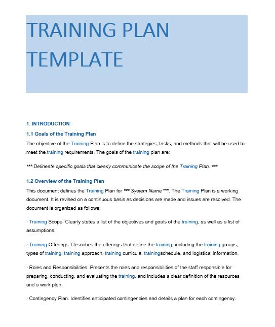 Training Manual Template 17