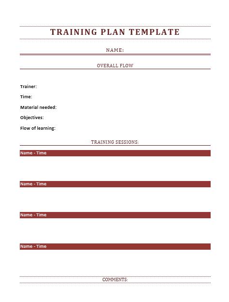 Training Manual Template 21